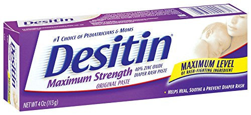 Desitin Maximum Strength Diaper Rash Cream 4 ounce