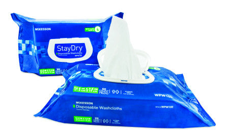 StayDry® Personal Wipes - Soft Pack Enriched with Aloe& Vitamin E - Scented