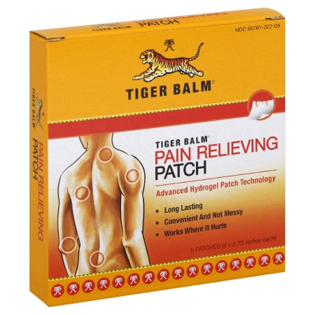 Tiger Balm® Pain Relief Patch (5/Pack)