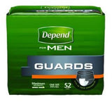 Depend® Male Guards Heavy Absorbency