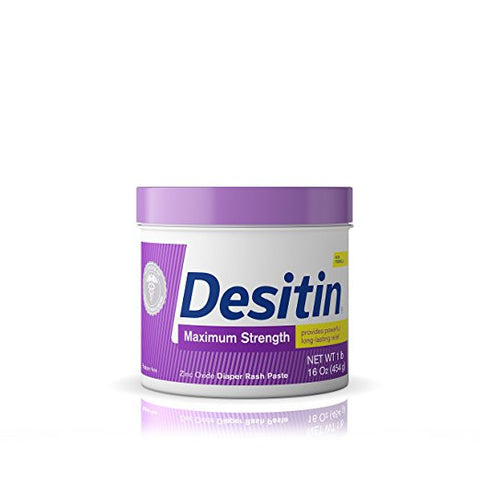 Desitin Maximum Strength Diaper Rash Cream Jar