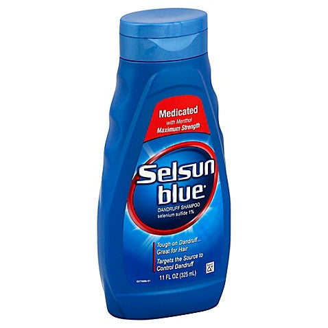 Selsun Blue® Dandruff Shampoo 11 oz. Bottle Scented