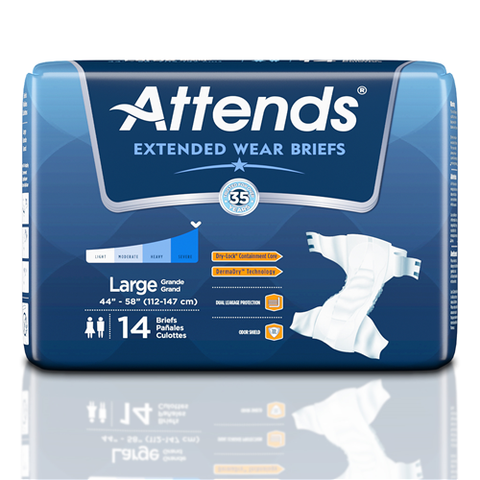 Attends Extended Wear Brief