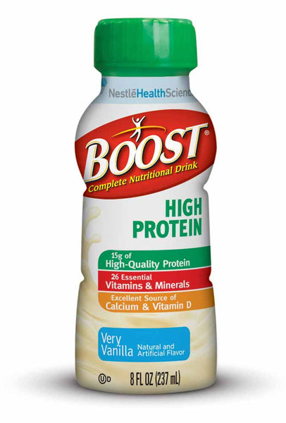 Boost High Protein Complete Nutritional Drink 8 fl oz Bottle