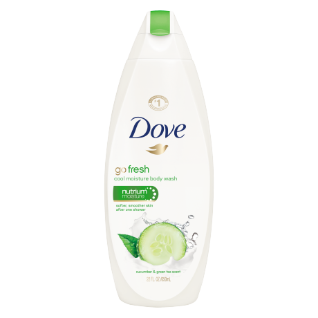 DOVE® Go Fresh Cool Moisture Body Wash 12oz