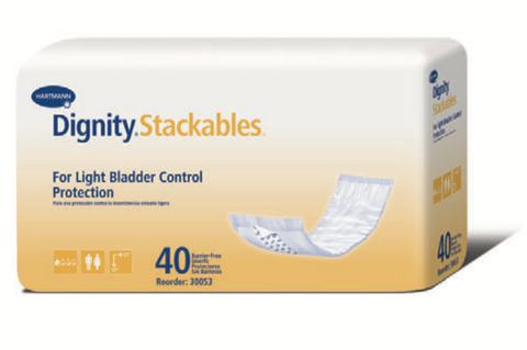 Dignity® Stackables® and Stackables® Long Incontinence Bladder Control Protection Booster Pads
