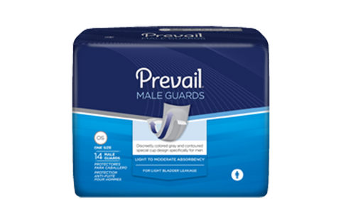 Prevail Male Guards for Light Incontinence