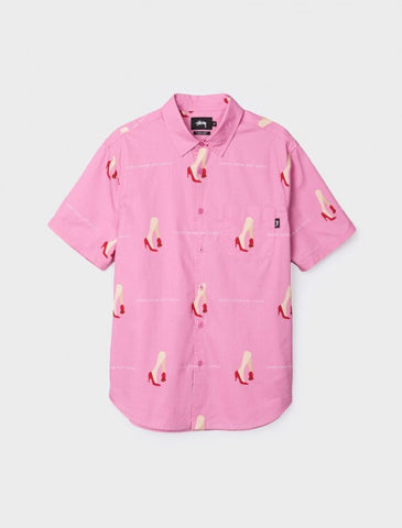 Camisa Stussy Good From Any Angle Shirt pink