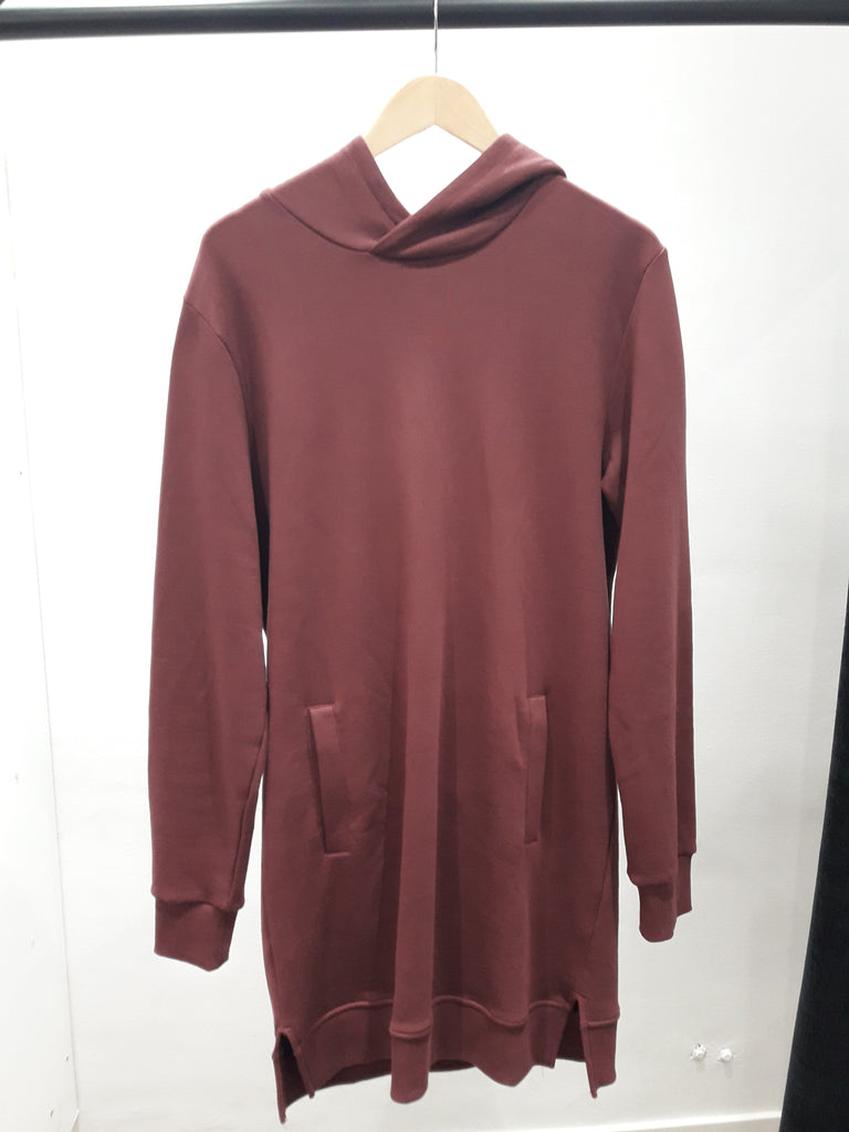 Jersey Revolution Sweat Hood Bordeaux