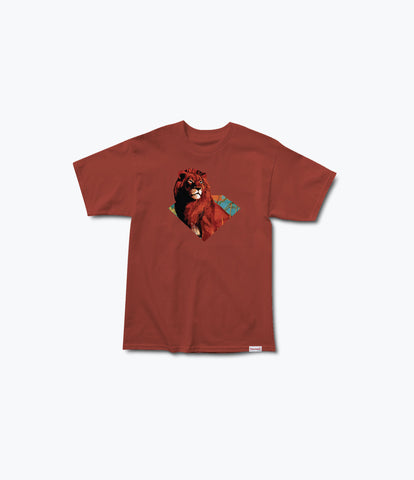 Camiseta Diamond Africa Tee red