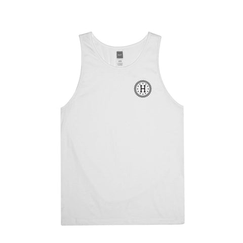 Camiseta Huf Checkered Tank white