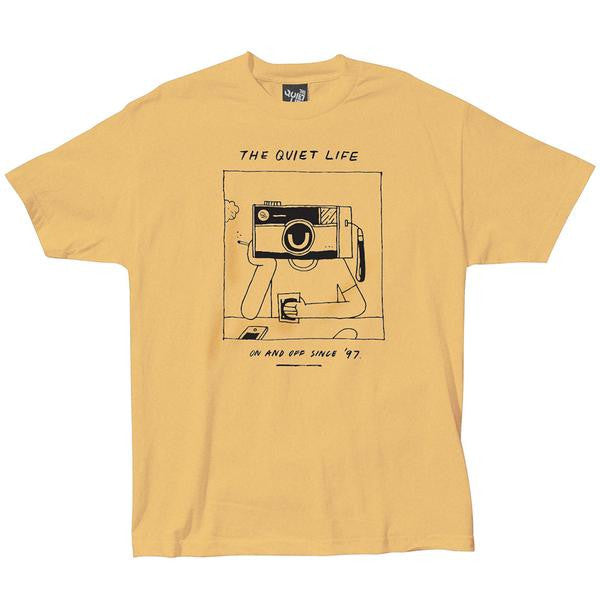 Camiseta Quiet Life Camera Head T yellow   SALES 50%