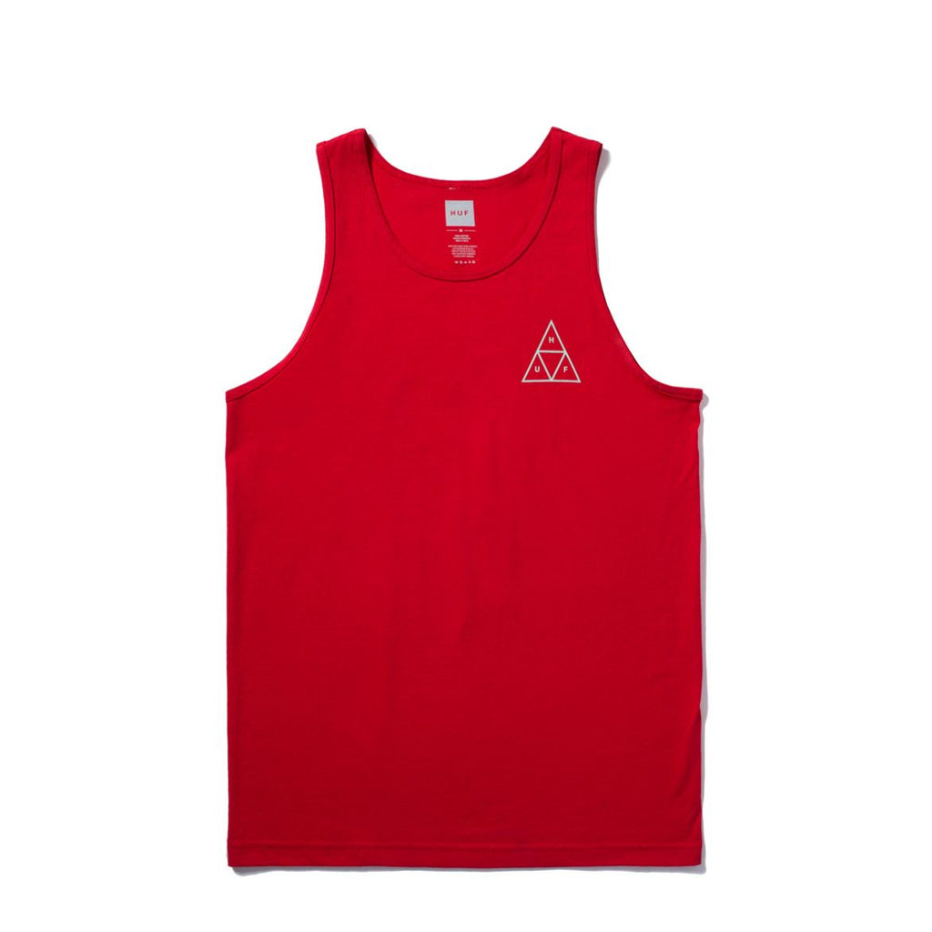 Camiseta Huf Triple Triangle Tank red   SALES 50%
