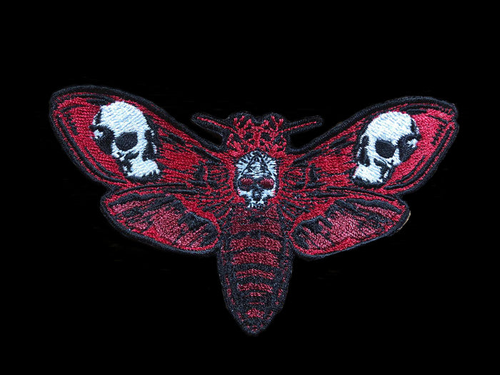 The Death's Head Moth - RED