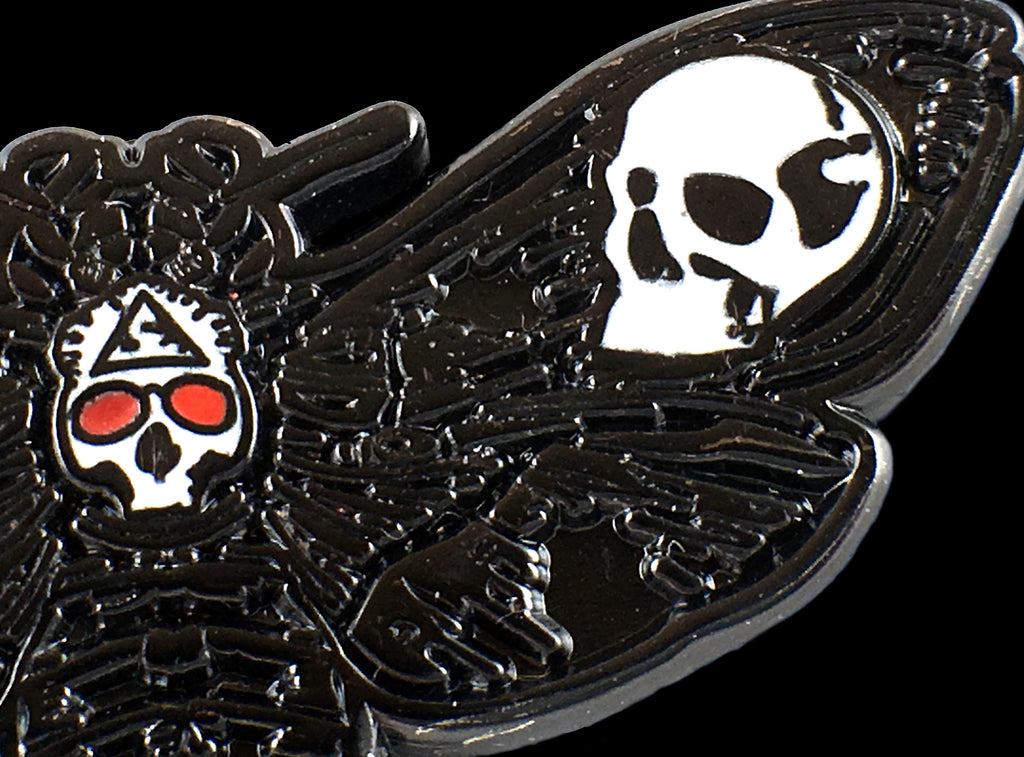 The Death's Head Moth Pin