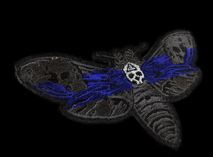 The Deaths Head Moth - Thin Blue Line