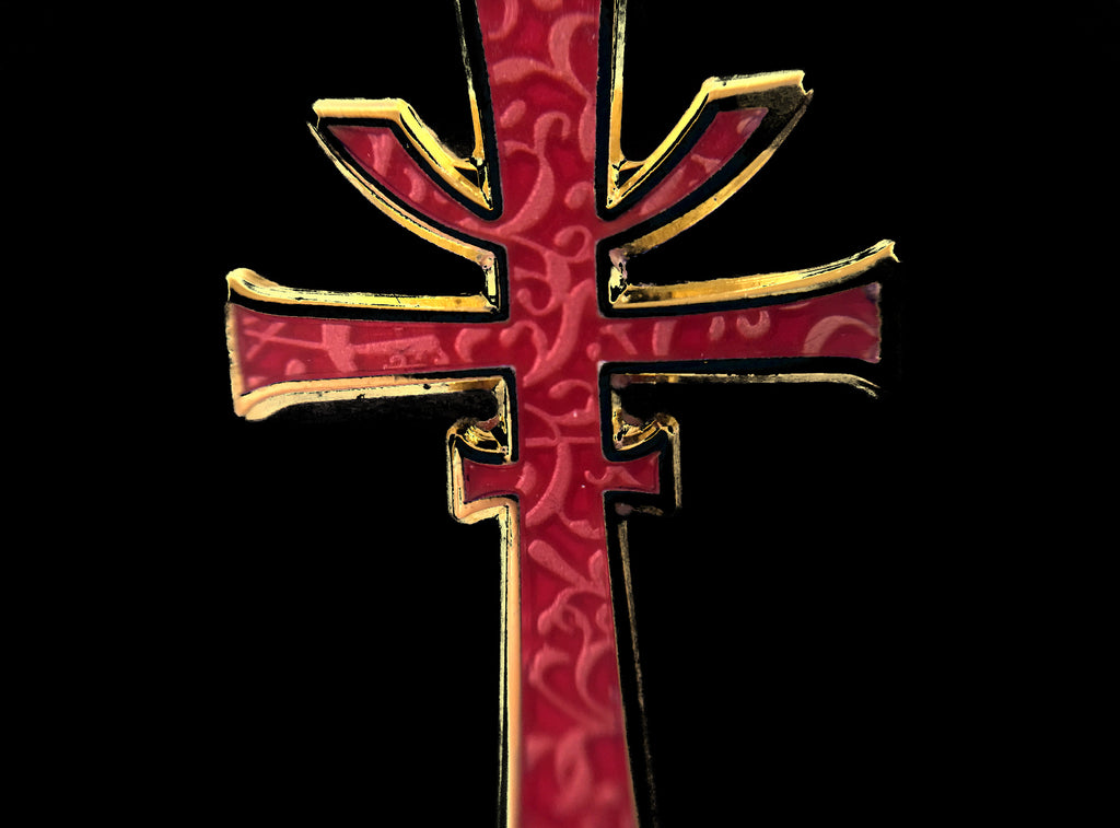 The Cruciform Sword Pin