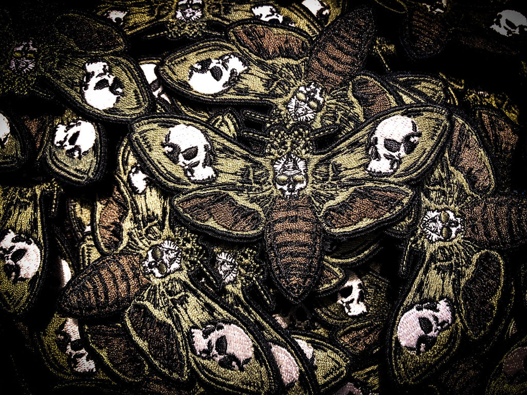 The Death's Head Moth - OD (Olive Drab)