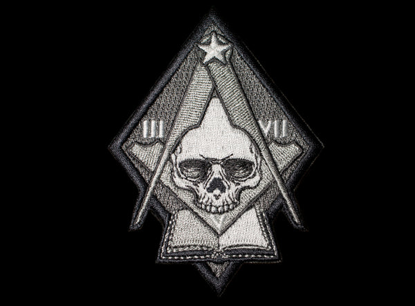 Light Is Knowledge - Masonic Patch