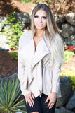 SUPER SWEET VANILLA JACKET - KHAKI - Red Gate Boutique