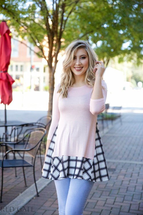 Crazy about you dress - pink