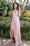 Make me blush dress - dusty rose