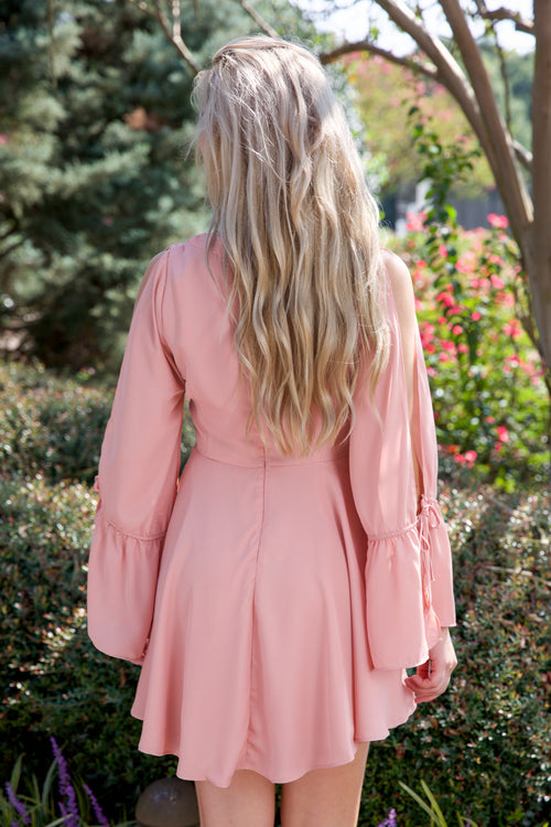 FAITH + GRACE DRESS - SALMON