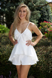 Wonderful in white romper - white