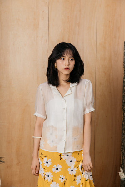 JULIETTE BLOUSE (PASTEL YELLOW)