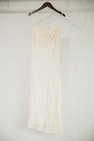 FLAVIA STRAPLESS ONE PIECE (CREAM)