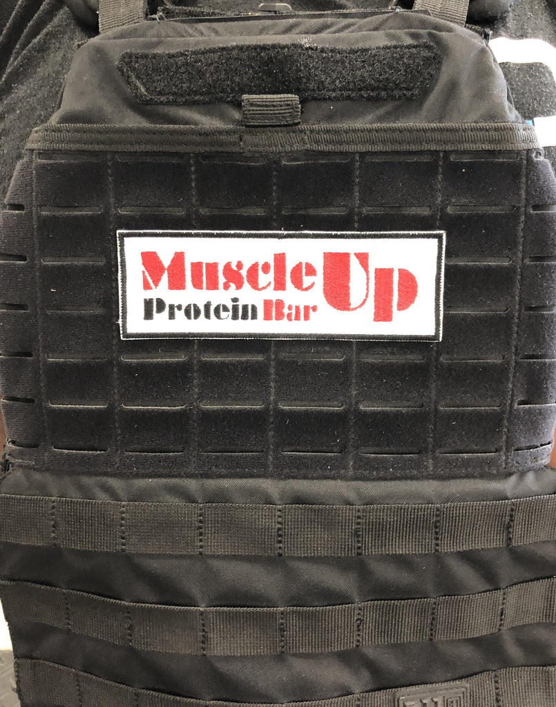 Embroidered Patch with Muscle Up Bar - Muscle Up Bars