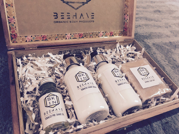 The Gentlemen's Shaving Set - Skin Beehave
