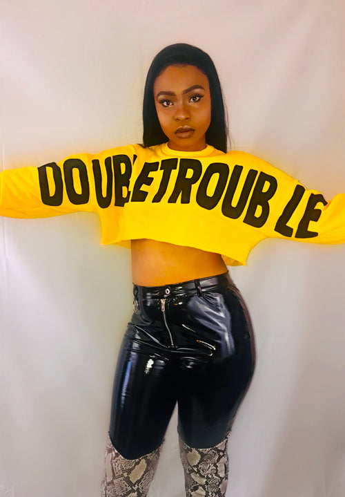 Double Trouble- Yellow