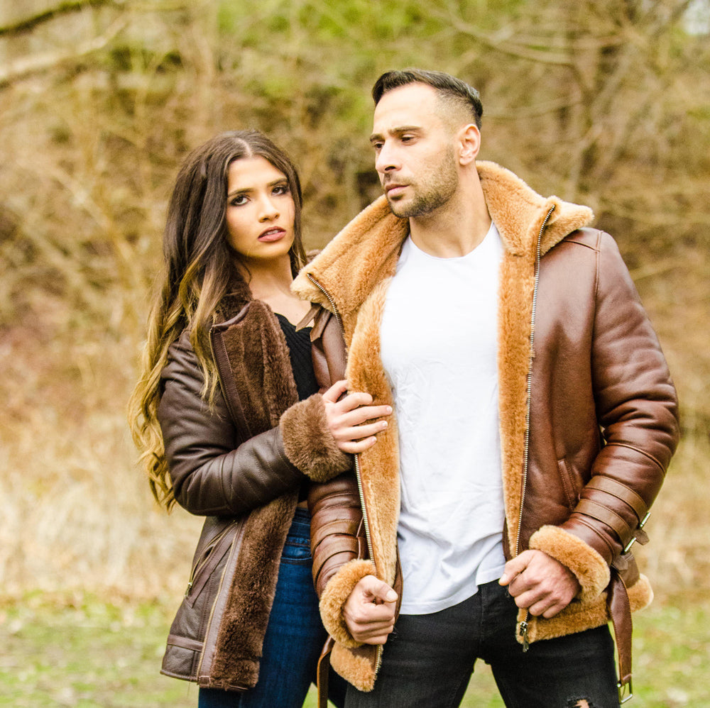 Sheepskin Shearling Jackets
