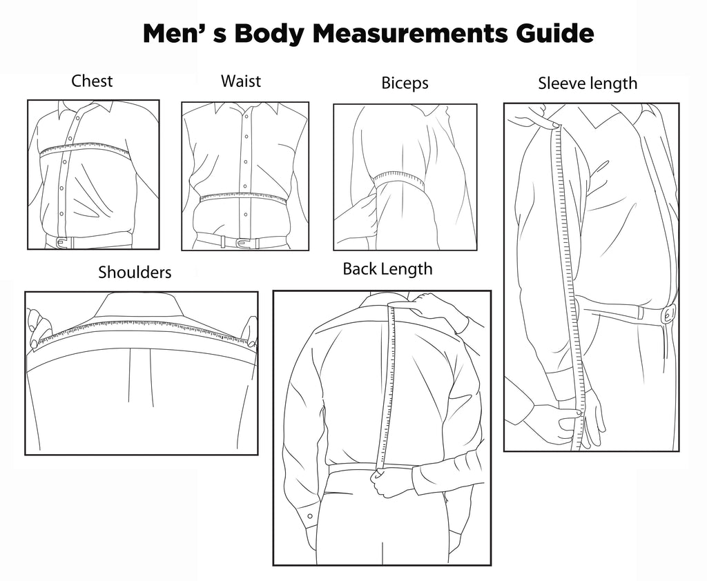 how to measure your body for men u0026 39 s jacket