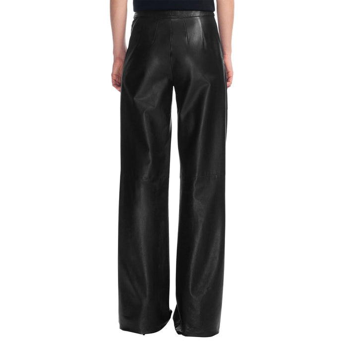 Bell bottom leather pants (style #6) - Lusso Leather - 2