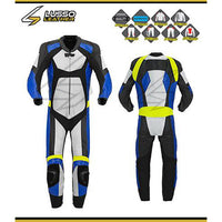 Camacho's motorcycle leather suit
