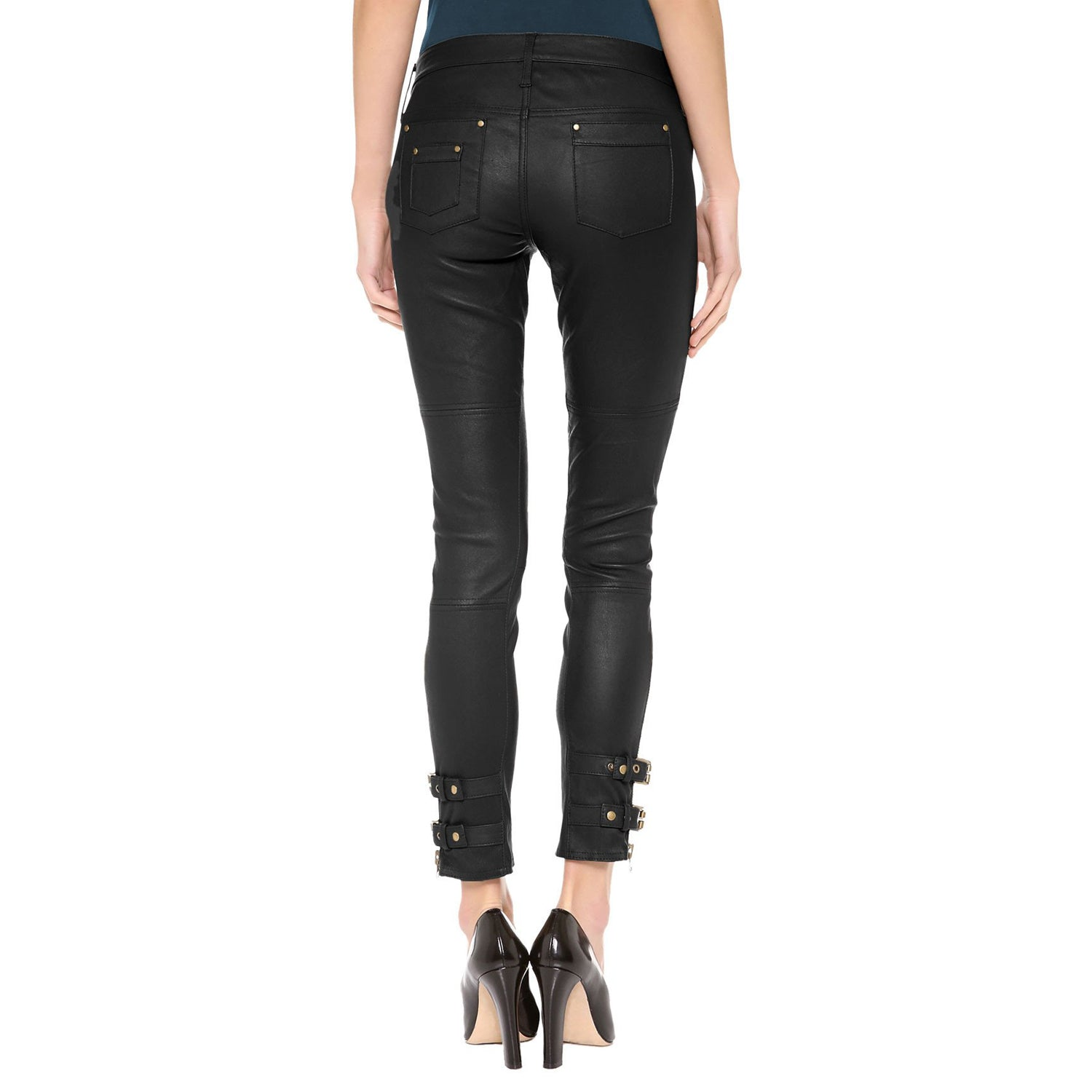 Leather pants (style #1) - Lusso Leather - 2