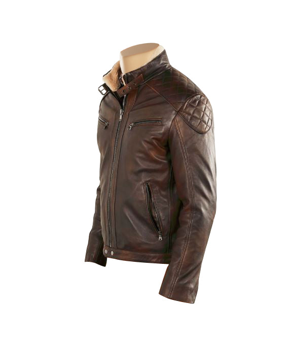 Desert leather jacket