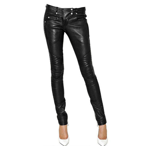 Leather pants (style #2) - Lusso Leather - 1