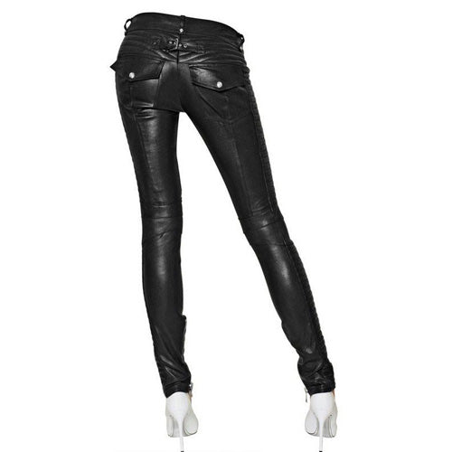 Leather pants (style #2) - Lusso Leather - 2