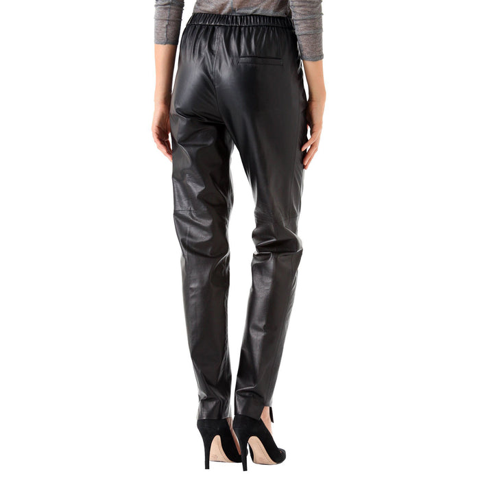 Relaxed fit hammer leather pants (style #13) - Lusso Leather - 2