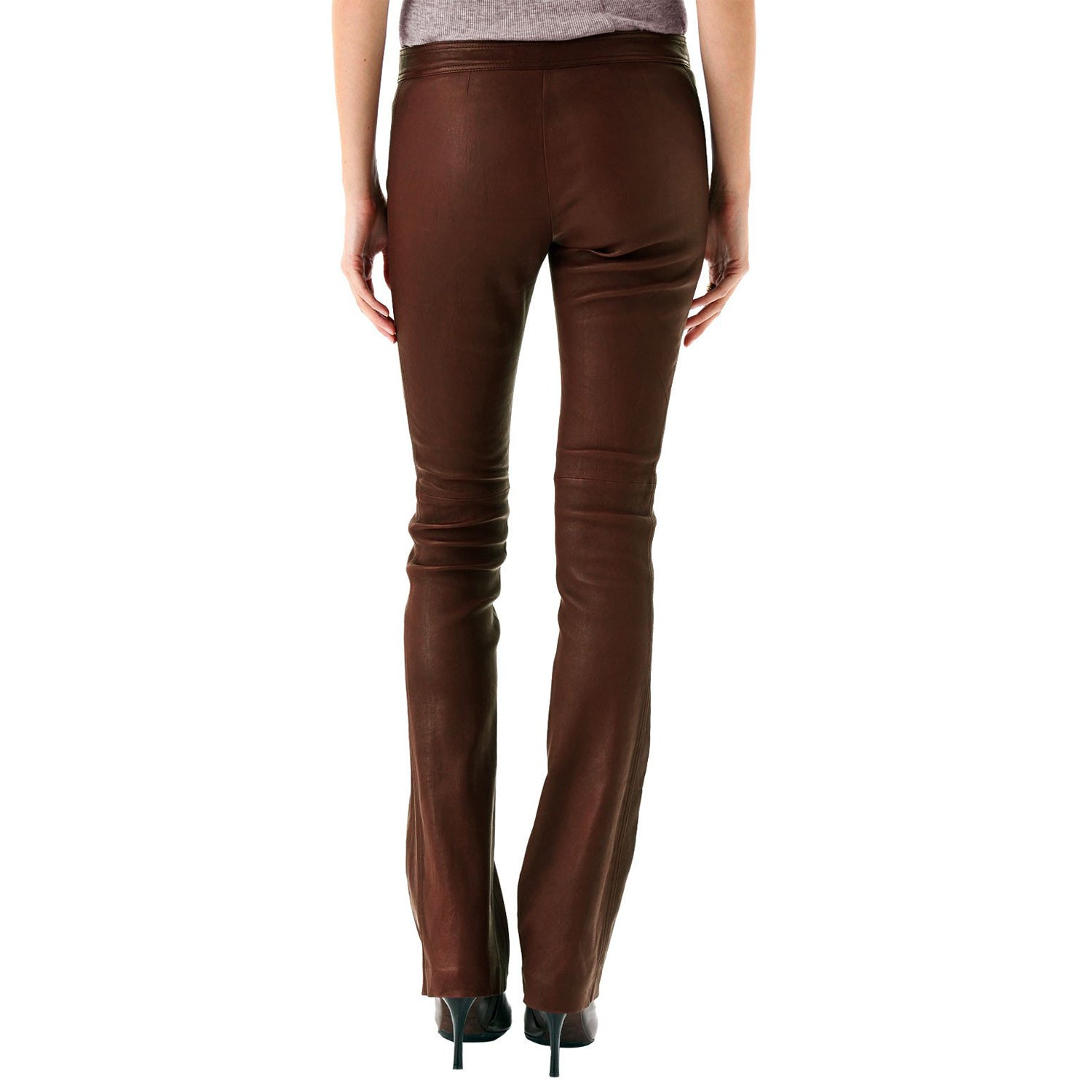 Business elegant leather pants (style #14) - Lusso Leather - 2
