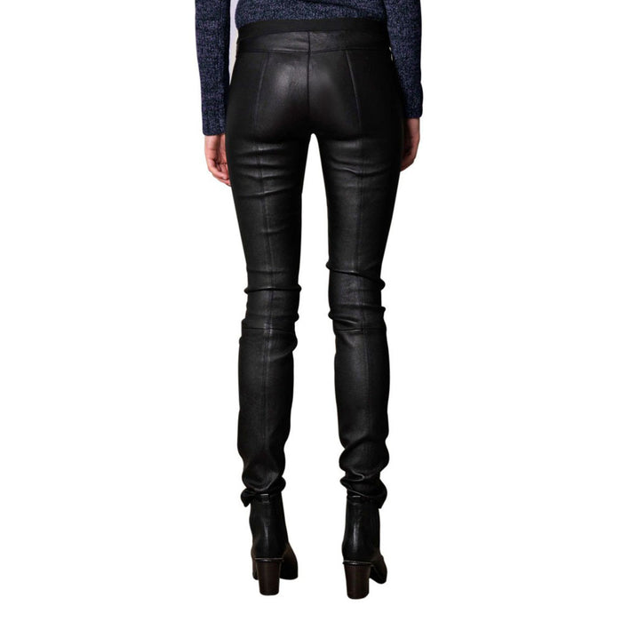 Night out leather pants (style #18) - Lusso Leather - 2