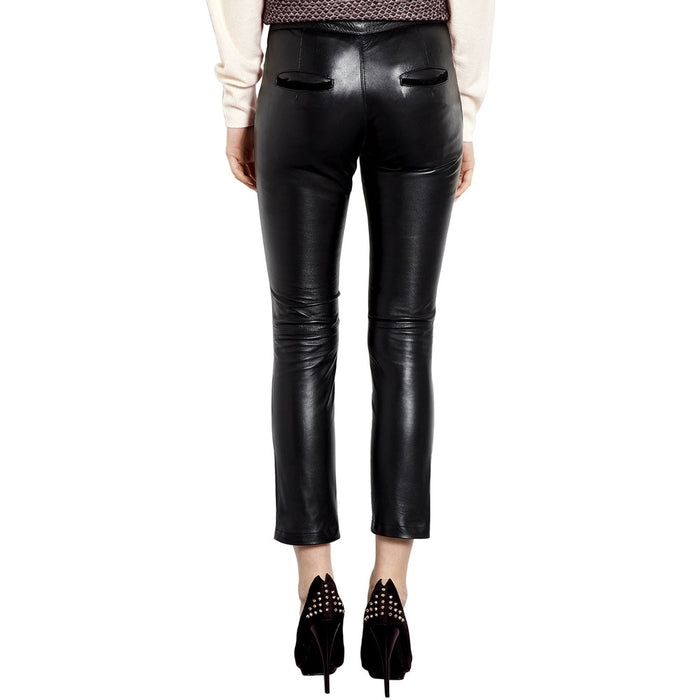 Yoga leather pants (style #21) - Lusso Leather - 2