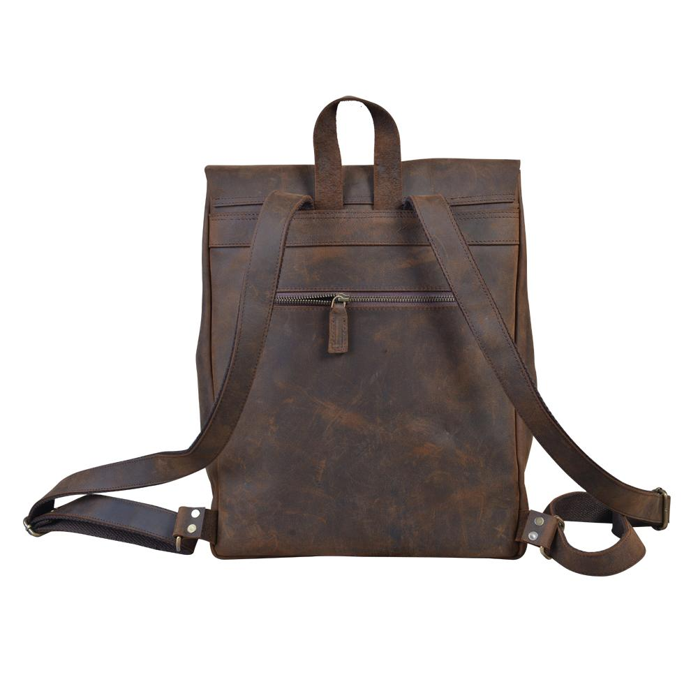 Cortez's Vintage Oiled Cowhide Backpack