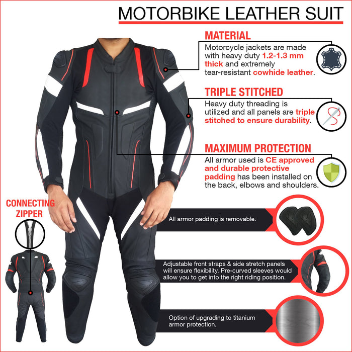 A Custom Motorcycle Suit (YOUR DESIGN)