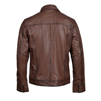 Thatchers premium hand waxed brown leather jacket
