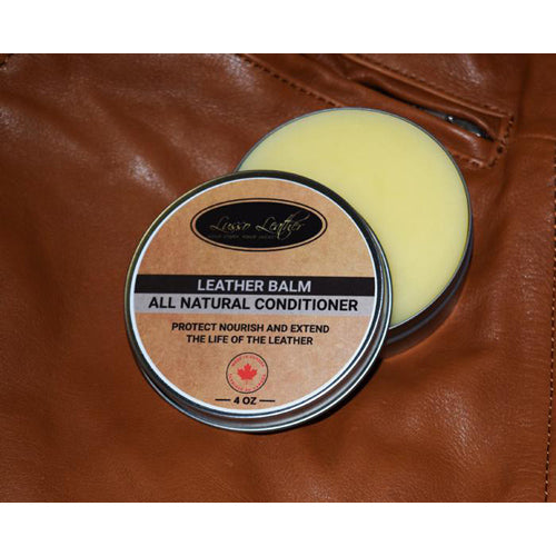 All Natural Leather Balm and Conditioner