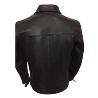 Brown Plainsman Leather Jacket